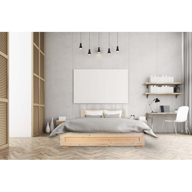 SALE מיטה מעוצבת בעיצוב חדשני עשויה עץ אורן מלא במבצע לוהט מזרן הובלה והרכבה-חינם
