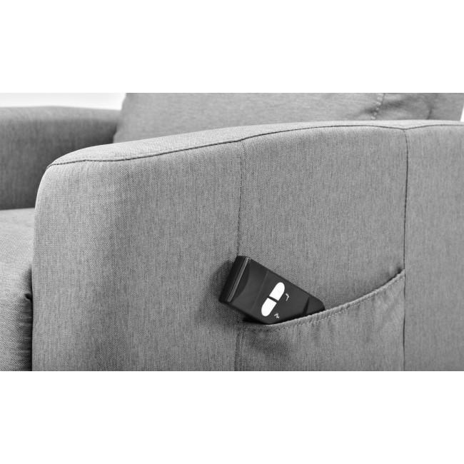 כורסת טלוויזיה חשמלית מעוצבת כוללת שלט לתפעול, הרמה והורדה קלים ונוחים -משלוח חינם