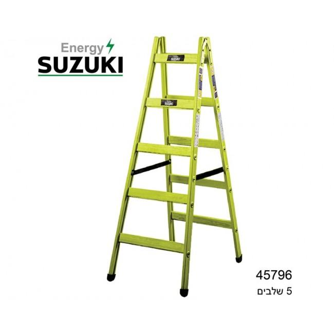 סולם עץ 5 שלבים מבית SUZUKI ENERGY