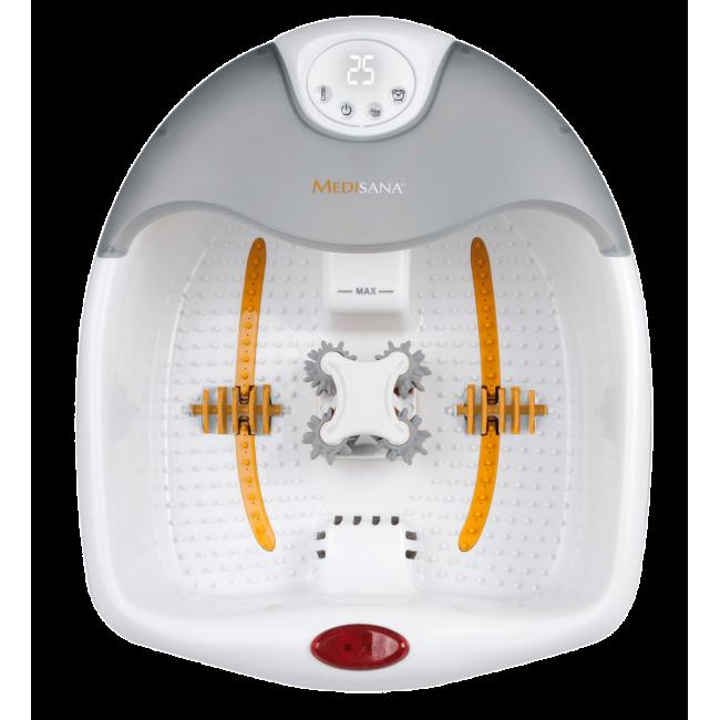 אמבט עיסוי 3 ב-1 ספא לרגליים מחמם עם מגוון אביזרים  FS 885 MEDISANA משלוח חינם