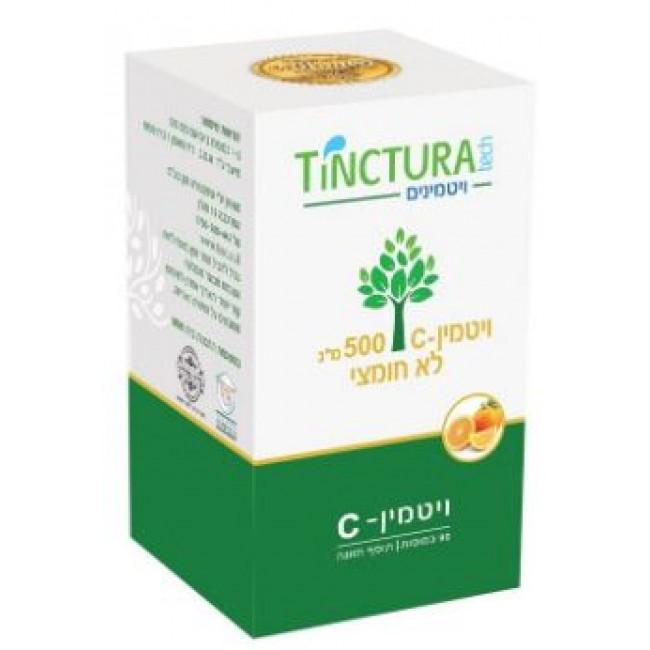 מבצע ויטמין C-500 לא חומצי (90 כמוסות) - טינקטורה טק