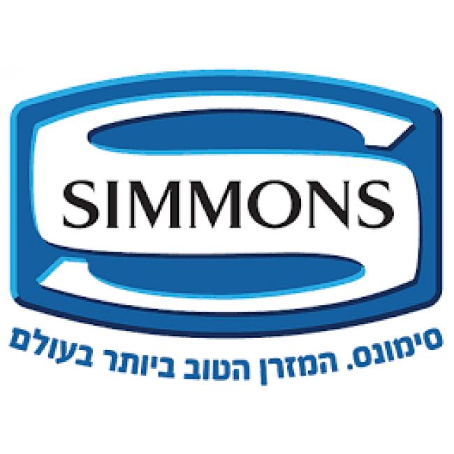 מזרון SIMMONS אורטופדי עם מערכת קפיצים מבודדים Beautyrest, בתוספת מערכת ERC -אנרג'י קונטרול-משלוח חינם