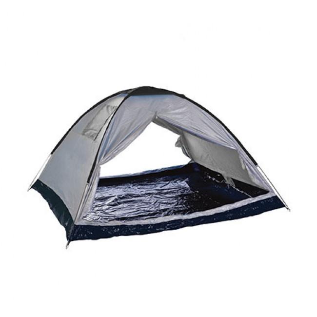 SALE אוהל 2 פתחים CAMPTOWN ל-4 אנשים BREEZE כולל סט 4 יתדות LED מוארים לאוהל מתנה-משלוח חינם