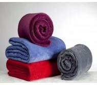 Двуспальное флисовое одеяло