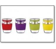 סט 3 כוסות מעוצבות לתה   PETERHOF