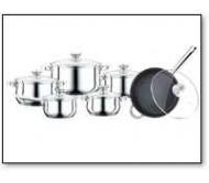 סט סירים PH-15799 PETERHOF סט סירים מקצועי מסדרת היוקרה של השיש האיכותי ביותר למטבח 12 חלקים בעיצוב מבריק ובמראה יוקרתי