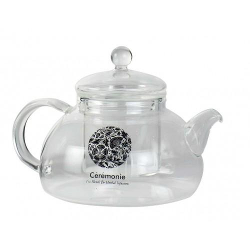 Стеклянный заварной чайник с диффузором