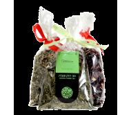 שקית תפזורת תה ירוק סנצ׳ה שקית תפזורת תה ירוק סנצ׳ה