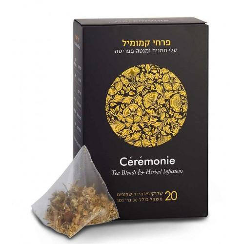 Травяной чай без кофеина ЦВЕТКИ РОМАШКИ пирамидки