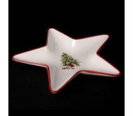 Сервировочная тарелка в форме звезды
