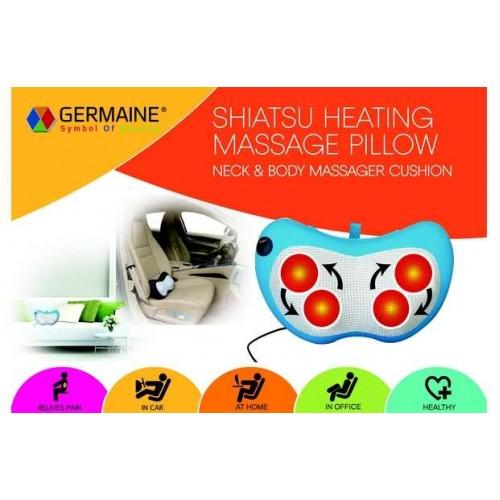 Массажерная подушка Шиацу + подогрев GERMAINE модель-GM 6108