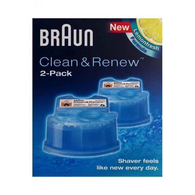 נוזל ניקוי למכונות גילוח Braun CCR2