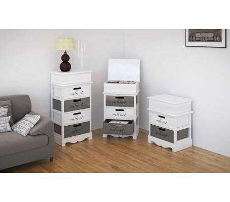 Шкаф с ящиками со скрытым верхним ящиком, модель Тоскана