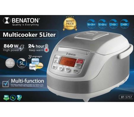 Инновационная мультиварка BENATON 3D Multicooker