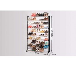 Модульный шкаф для обуви на 50 пар
