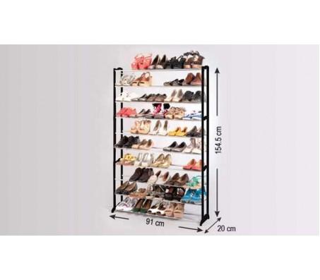 ארון נעליים מודולרי ל 50 זוגות