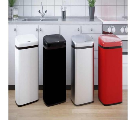 Стильные автоматические баки для мусора – модели 2017 года