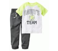 Комплект из футболки и брюк Carter's