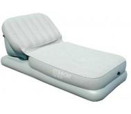 מיטה מתנפחת + משענת 67386 Bestway Comfort Quest