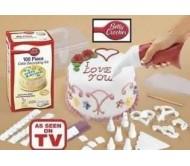 Набор из 100 предметов для украшения тортов