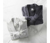 Банный халат unisex из чистого хлопка