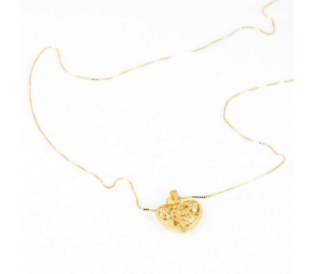 Ожерелье из золота 14 карат с кулоном