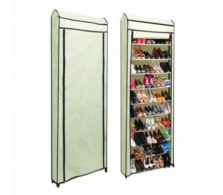 Модулярный шкаф для обуви, вмещающий до 40 пар