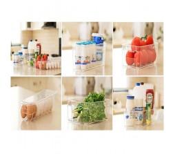 סט ארגוניות למקרר בגדלים שונים