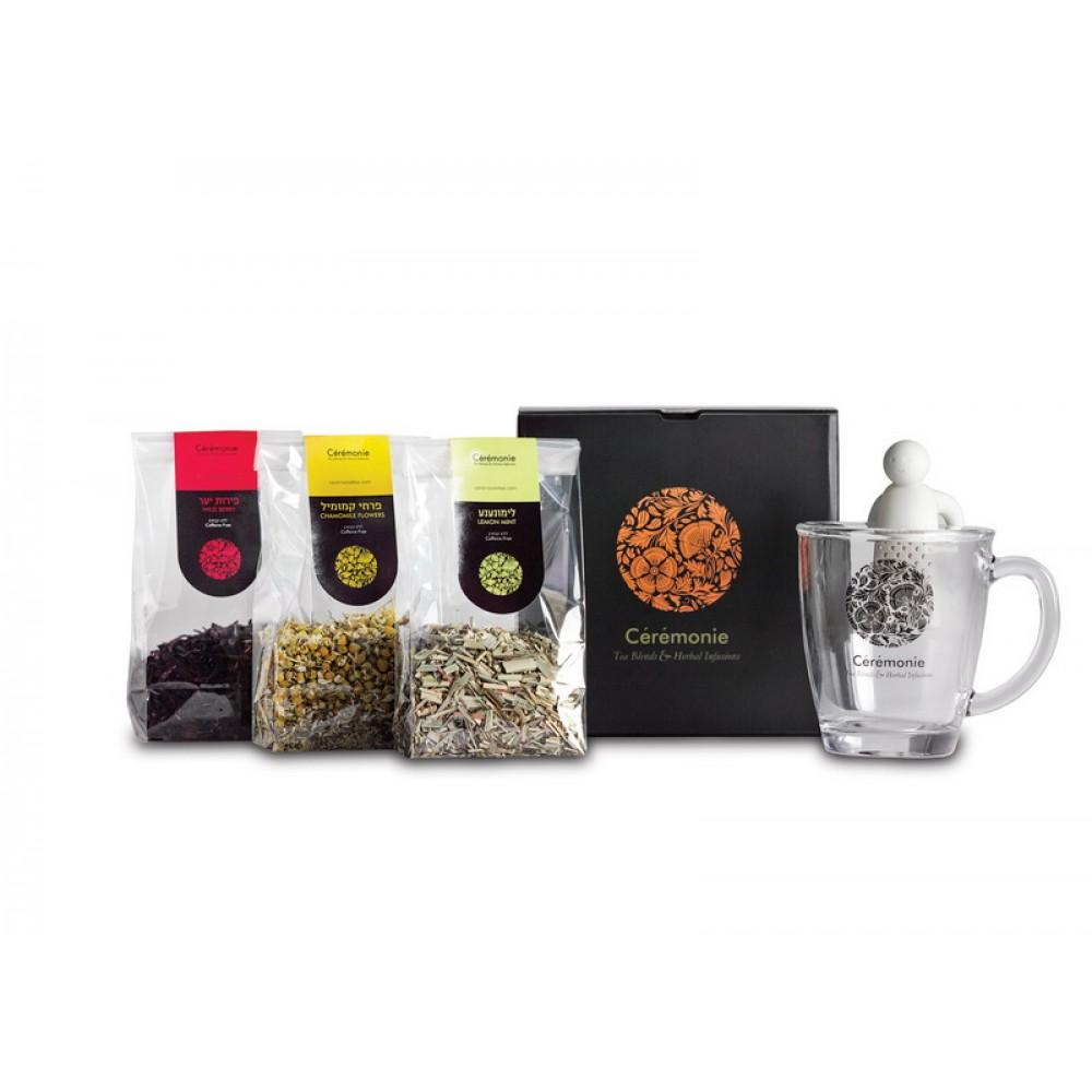 Чайный набор для гурманов TEA 4 U