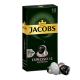 100 קפסולות אלומיניום קפה ג'ייקובס תואמות מכונת נספרסו